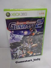 DYNASTY WARRIORS GUNDAM 2 (XBOX 360) NUOVO SIGILLATO