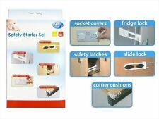 Pack of 16 Home Safety Starter Set Baby Proof Kids Children Proofing Easy To Use