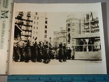 Rare Hist Original VTG 1944 British Home Guard Parades Before King George Photo