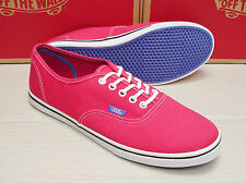 Vans Authentic Lo Pro Pop Rose Red Purple Iris Women's Size 9