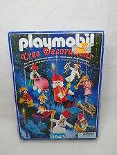 *NEW* Playmobil Christmas Tree Decorations #3943 Rough Box Sealed HTF B47 2.5