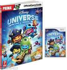 Disney Universe Game & Prima Official Game Guide (Wii) Dress as 40+ Characters!
