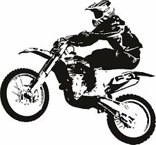 Motorcycle Wall Decal Vinyl Sticker Decals Art Decor wall decal  motocross bike