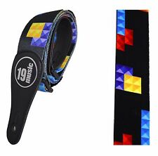 Tetris Style guitar strap guitarist gift xmas retro gaming old school 80s gamer