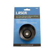 Taza De Filtro De Aceite Llave 65 Mm & 67mm / 14 Flautas-Laser 4990-Herramienta de eliminación