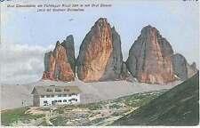 CARTOLINA d'Epoca BELLUNO provincia -   RIFUGIO ALPINO 1909