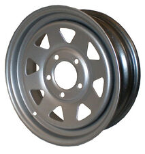 "13"" Sunraysia Wheel Rim Silver Holden HT Stud Pattern Trailer Caravan Boat New"