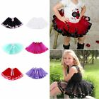 Children Kids Girls Fluffy Princess Dress Tulle Tutu Skirts Ballet Dance Dress