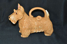 BLUE SKY Scottish Terrier Dog Tea Pot Teapot Ceramic  New