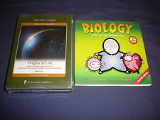 Teaching Co Great Courses  CDs         ORIGINS of LIFE        new sealed + BONUS