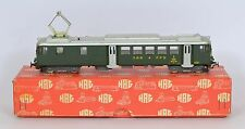 HAG HO 151 SBB SWISS RBe 4/4  MAINLY METAL DIR & INT LIGHTS FAB RUNNER V Nr MINT