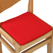 Pop Cushion Office Chair Garden Indoor Dining Seat Pad Tie On Square Foam Patio