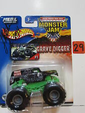 HOT WHEELS  MONSTER JAM 2002 GRAVE DIGGER W/ AUTOGRAPH