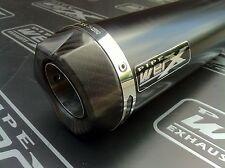 Triumph  Daytona 600 2002 2003 2004 Black GP, Carbon Outlet, Race Exhaust Can