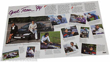 Poster Opel Team 1994 - Beilage aus Opel Magazin Start, 76 x 52 cm