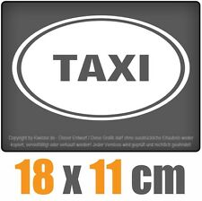 Taxi 18 x 11 cm JDM Decal Sticker Aufkleber Racing Die Cut