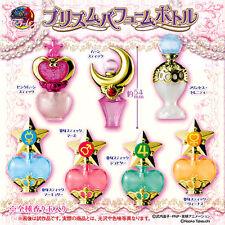 Sailor moon Japan Bandai gashapon prism power perfume beads lot 7 bottle set