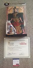 CAROL BURNETT & BOB MACKIE Signed Barbie DOLL 50th Anniversary TV Show PSA COA