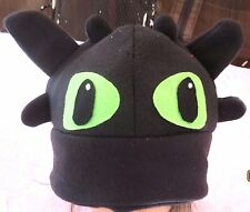 Toothless Dragon Tooth less  inspired Costume hat Cosplay How to Train Halloween