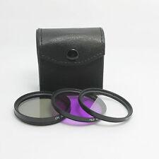 58MM  UV CPL FLD Filter Kit + Lens CAP for DSLR SLR Canon 650D 550DRebel 18-55MM