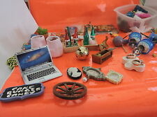 VERY LARGE LOT OF 1:12 SCALE MANY MISC. DECORATOR ITEMS  MINIATURE DOLL HOUSE.