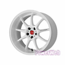 WORK EMOTION D9R 18x10.5 5-114.3 +30 +23 +15 WHT JDM WHEEL 18 *1rim price