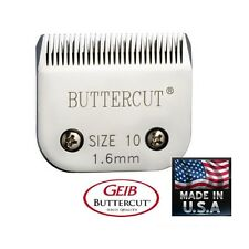 GEIB BUTTERCUT A5 A-5 # 10 Blade Pet Grooming*Fit Most Oster Andis Wahl Clipper