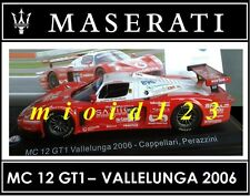 1/43 - Maserati 100 Years Collection : MC 12 GT1 Vallelunga [2006] - Die-cast