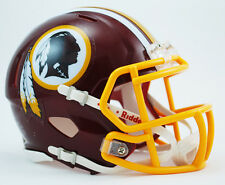WASHINGTON REDSKINS NFL Riddell SPEED Mini Football Helmet