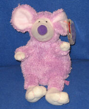 TY RATZO the PURPLE RAT BEANIE BABY - MINT with MINT TAGS
