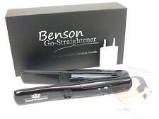 KENNETH BENSON Go-Straightener Mini-Glätteisen mit USB-Ladegerät NEU Haarglätter
