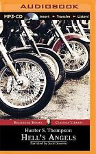 Hell's Angels : A Strange and Terrible Saga by Hunter S. Thompson (2015, MP3...