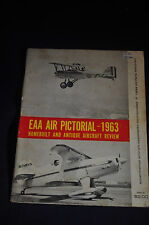 1963 *FIRST* EAA Air Pictorial Homebuilt and Antique Aircraft Review