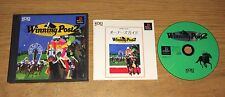 Winning Post 2 Playstation Game Complete Fun Japan Import PS1 Games