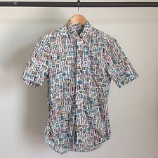 GITMAN BROS VINTAGE WHERE IS WALDO BUTTON UP COLLARED SHIRT BROTHERS MSRP $198