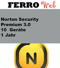 Norton security Premium 3.0 10 Geräte 1 jahr + 25 GB online backup