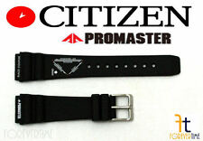 Citizen Promaster JQ6014-05A 20mm Black Rubber Watch Band Strap JQ6014-05E