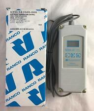 NEW Ranco Electronic Temperature Control ETC-141020 Single Stage W/ Sensor