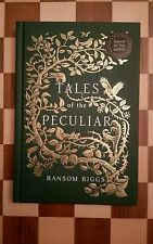 Tales of the Peculiar DUAL SIGNED Ransom Riggs & Andrew Davidson HB 1st/1st