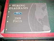 2009 FORD FOCUS FACTORY PRINT WIRING DIAGRAMS excellent