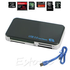 High Speed USB 3.0 Compact Flash Memory Card Reader CF Adapter MicroSD MS XD