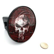 "2"" Tow Hitch Receiver Cover Insert Plug for Most Truck & SUV - PUNISHER SKULL"
