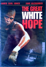 THE GREAT WHITE HOPE - JAMES EARL JONES, JANE ALEXANDER - DVD - STILL SEALED