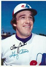 Gary Carter Signed 1980 Topps Giants #52 Autograph Auto PSA/DNA Z10834