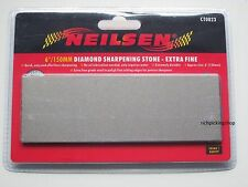 "6""/150mm EXTRA FINE Diamond Sharpening Stone Whetstones - For Fine Cutting Edges"