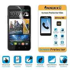 3x PELLICOLA per HTC Desire 516 FRONTE + PANNO PROTETTIVA DISPLAY