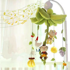 Baby Crib Rotary Toys Kids Bedding Clockwork Mobile Movement Music Box Infant