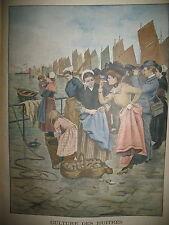 CULTURE DES HUITRES A CANCALE FOOTBALL DANS L'ARMEE LE PETIT JOURNAL 1902
