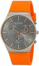 Skagen SKW607 Mens Balder Titanium Watch Water Resistant Slim 42mm Chronograph