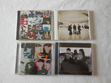 U2 4 CD Lot - Pop The Joshua Tree Achtung Baby & All That You Can't Leave Behind